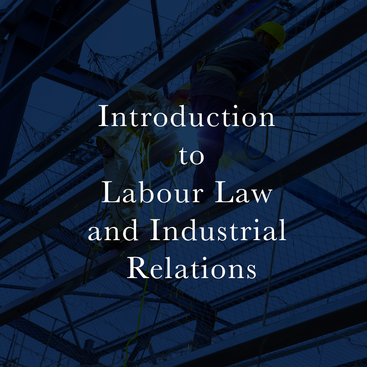 Introduction to Labour Law and Industrial Relations