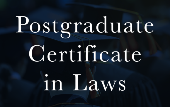 Postgraduate Certificate in Laws